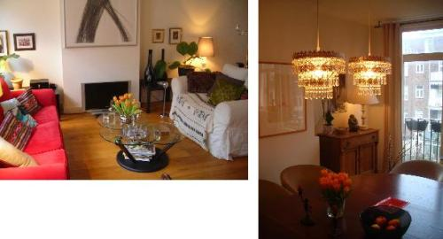 Sitting room and dining room