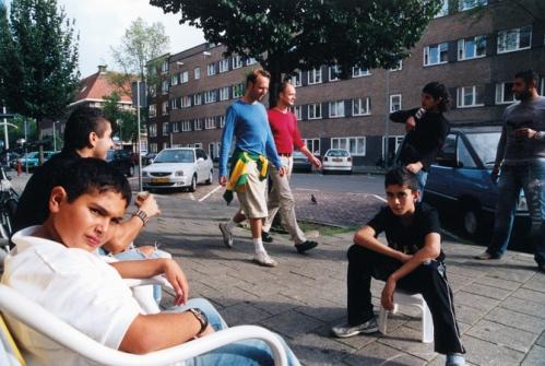 Maarten Tromp; from his book 'De buurman, z'n ex & de eigenaar van de wasserette'