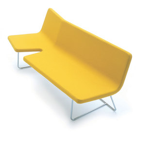 sofa 'Break', 2004, by Norway Says