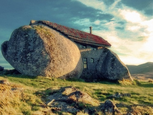 Stone House, Guimarães, Portugal
