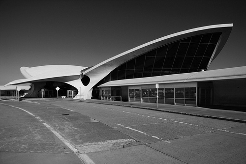 TWA terminal JFK airport by Eero Saarinen