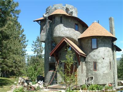Winthrop Castle, Winthrop, Washington state USA
