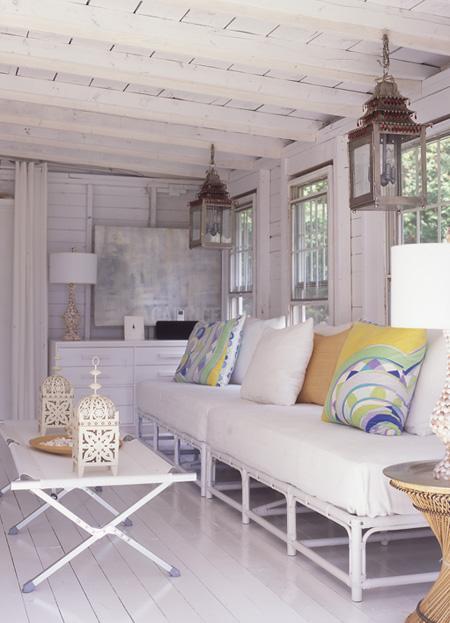 summer cottage design ideas interior, moroccan, white tips, small
