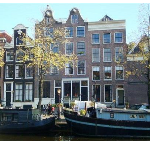 Another studio on one of Amsterdam's famous canals
